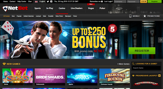 NetBet offers best casinos