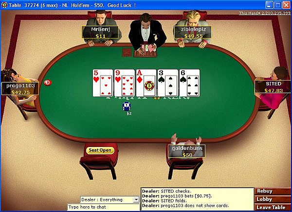 stakes poker tournaments online