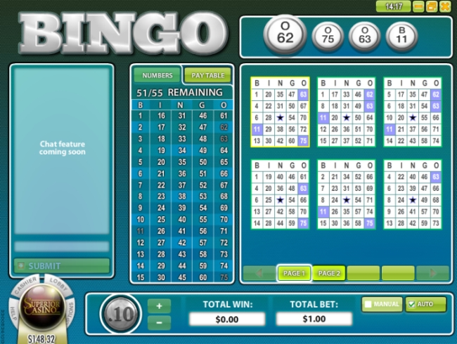 Play Your Favourite Game of Bingo Online