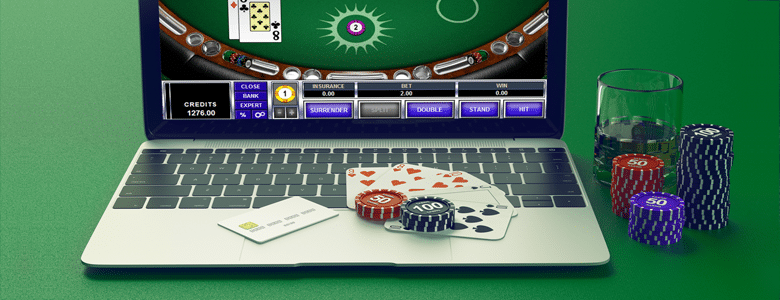 Getting Good at Online Blackjack